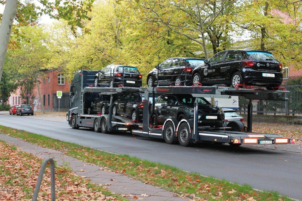 Dienstwagen Anlieferung