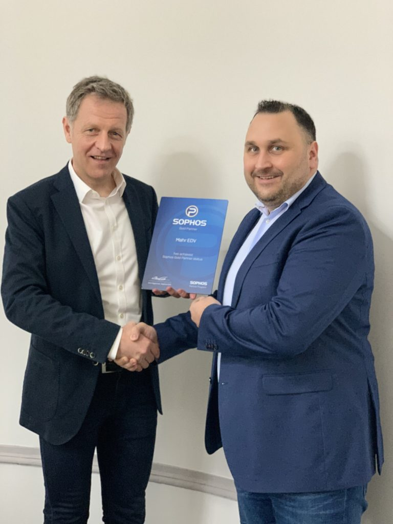 Sophos Gold Partnerschaft